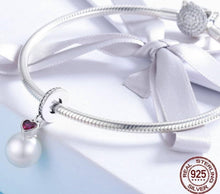 Load image into Gallery viewer, Elegant Pearl Heart - OriginSilver