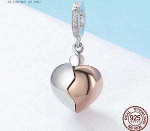 Key Of Heart Open & Close - Origin Silver