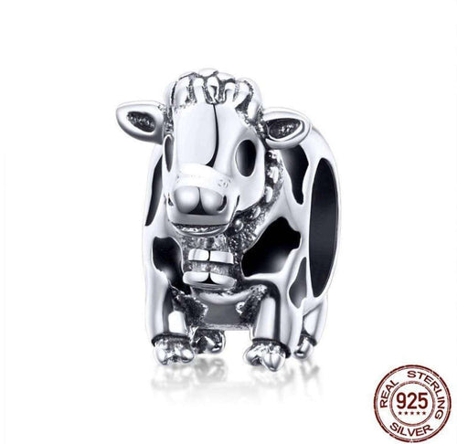 Cute Cattle Cow - Origin Silver