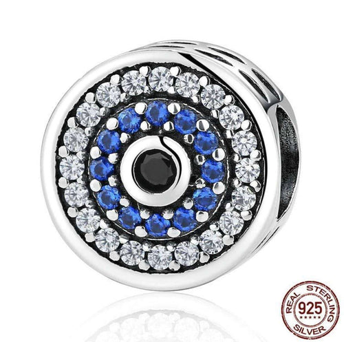 Blue Crystals Eyes - Origin Silver