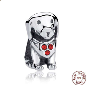 Cute Dog - Origin Silver
