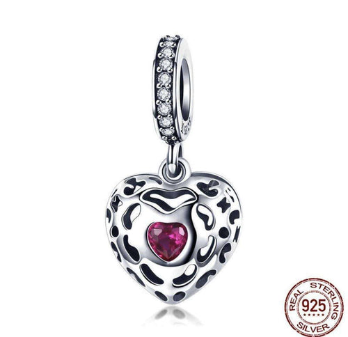 Happiness Heart Pink - Origin Silver
