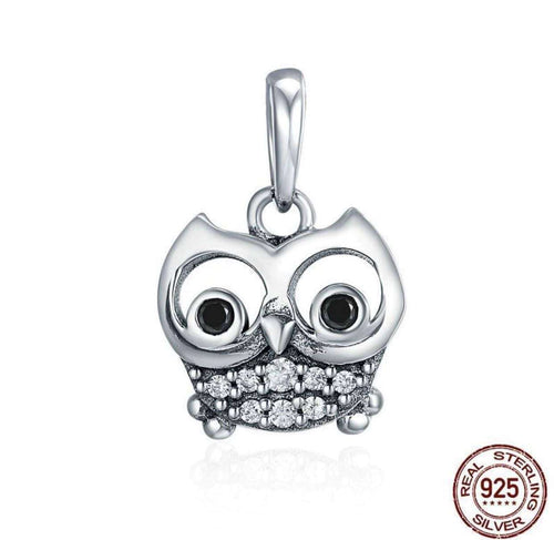 Lovely Animal Owl - Origin Silver