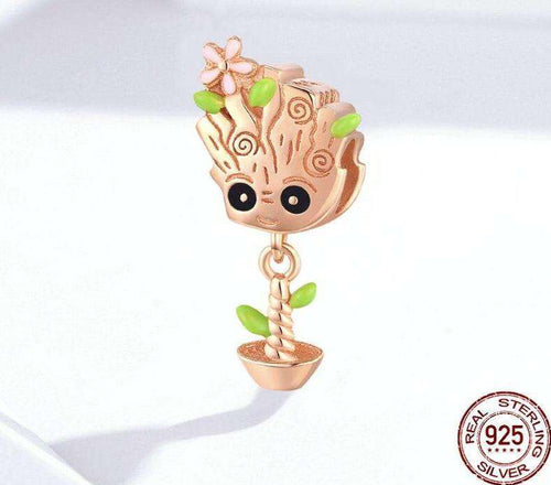 Cute Treant Charms - Origin Silver