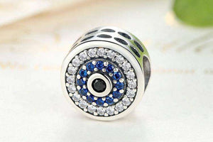 Blue Crystals Eyes - OriginSilver