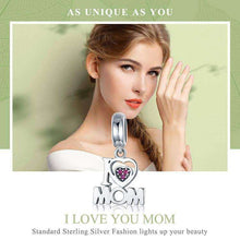 Load image into Gallery viewer, i Love Mom - Origin Silver