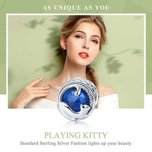 Playing Kitten Cat - Origin Silver