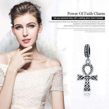 Load image into Gallery viewer, Power of Faith Cross - OriginSilver