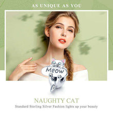 Load image into Gallery viewer, Naughty Cat - Origin Silver