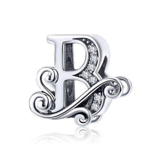 Load image into Gallery viewer, 26 Letter Alphabet Vintage - Origin Silver