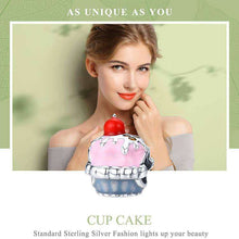 Load image into Gallery viewer, Cute Cup Cake - OriginSilver