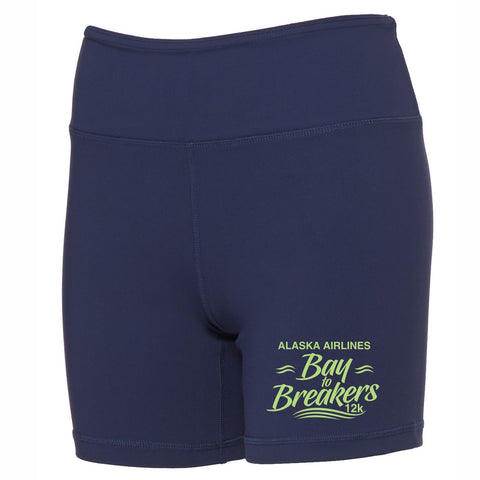 Women's Tech Shorts - Navy - by All Sport