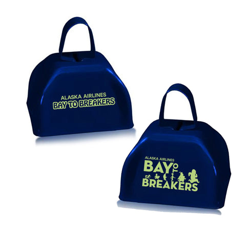 "Bay to Breakers 'Event Logo' 3"" Cow Bell - Black"