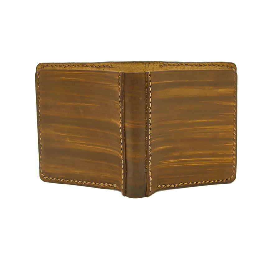 No. 11 - WALLNUT Leather Wallet - Handstitched