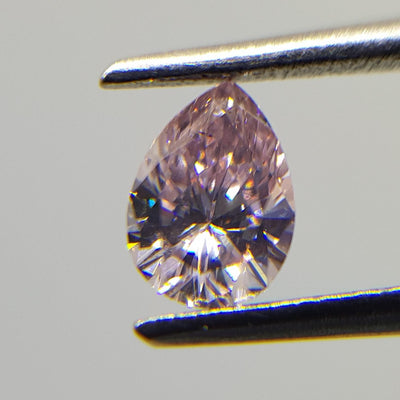 0.25 Carat PEAR Shape PINK Color Diamond - VMK Diamonds