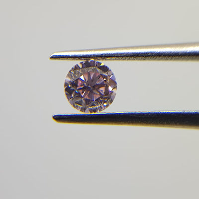0.30 Carat ROUND Shape PINK Color Diamond - VMK Diamonds