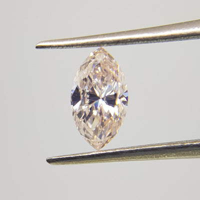 0.76 Carat MARQUISE Shape PINK Color Diamond