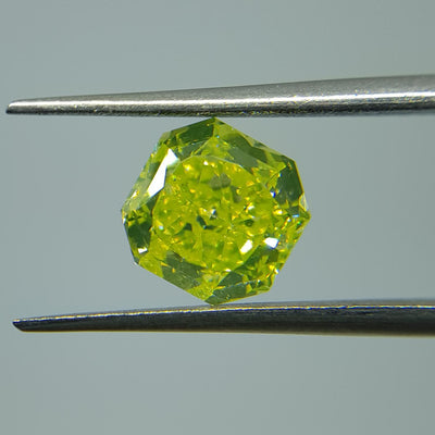 2.31 Carat RADIANT Shape YELLOW Color Diamond - VMK Diamonds