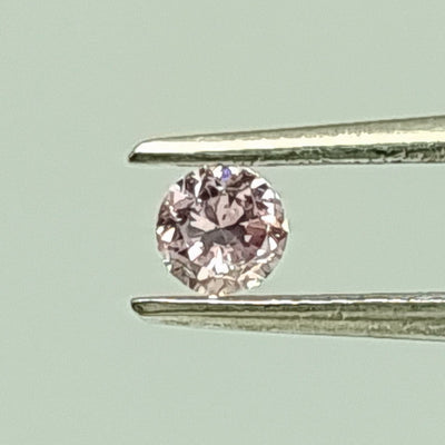 0.15 Carat ROUND Shape PINK Color Diamond - VMK Diamonds