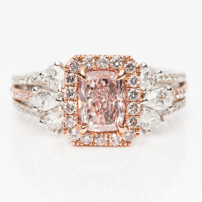 PINK Color Diamond Ring (2.00 Carat)