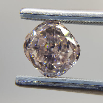 1.91 Carat CUSHION Shape PINK Color Diamond