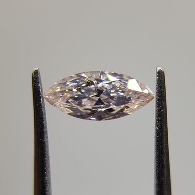 0.51 Carat MARQUISE Shape PINK Color Diamond - VMK Diamonds