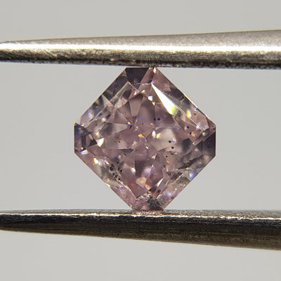 0.43 Carat RADIANT Shape PINK Color Diamond - VMK Diamonds