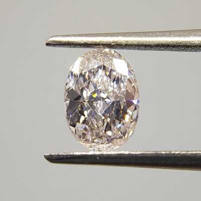 0.56 Carat OVAL Shape PINK Color Diamond - VMK Diamonds