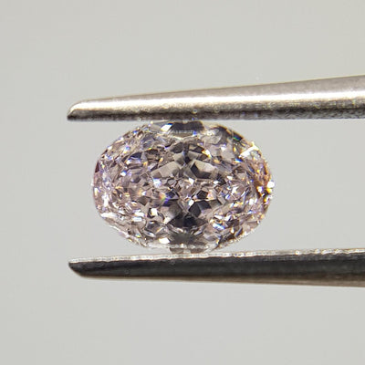 0.49 Carat OVAL Shape PINK Color Diamond