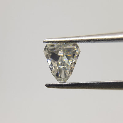 0.58 Carat SHIELD Shape GRAY Color Diamond