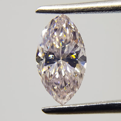 0.54 Carat MARQUISE Shape PINK Color Diamond - VMK Diamonds