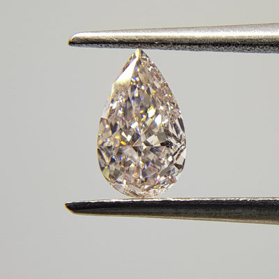 0.51 Carat PEAR Shape PINK Color Diamond