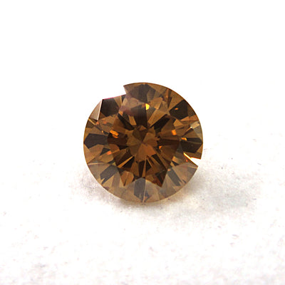 1.53 Carat ROUND Shape YELLOW Color Diamond - VMK Diamonds