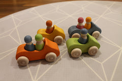 grimm's convertible cars little toy tribe