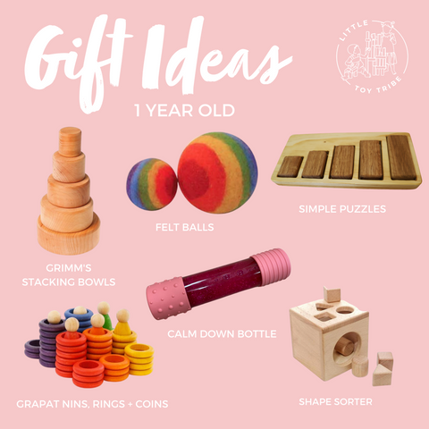 Gift ideas for 1 year old