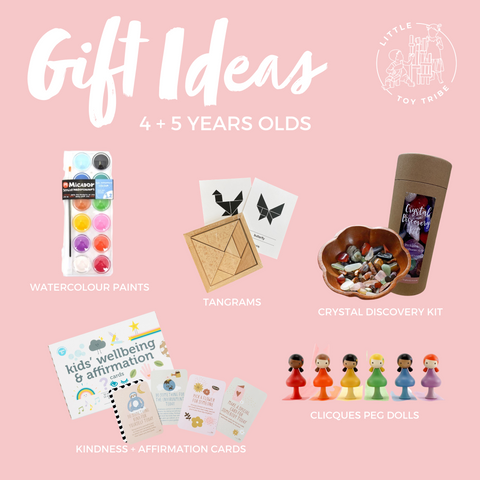 gift ideas for 4 and 5 year olds