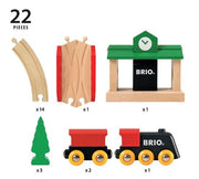 BRIO Classic Figure 8 Train Set - Pieces_Little Toy Tribe