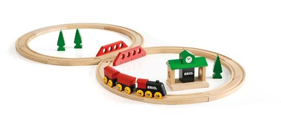 BRIO Classic Figure 8 Train Set - Set Up_Little Toy Tribe