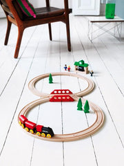 BRIO Classic Figure 8 Train Set - Styled_Little Toy Tribe