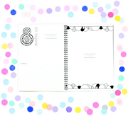 Memory Book - Monochrome Baby Book (Rainbow Family Edition)