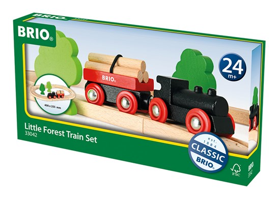 Brio Little Forrest Train Set - Cover _ Little Toy Tribe
