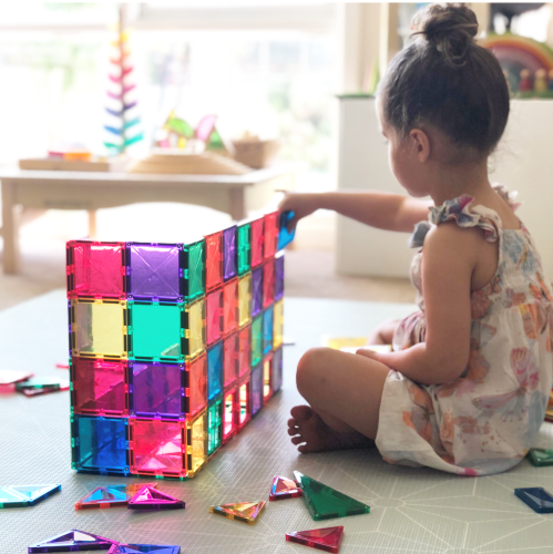 Connetix Tiles 62 Piece Set Little Toy Tribe