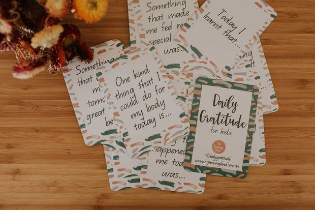 Gratitude Cards for Children