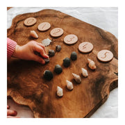 Elle Collective _ NumberDots on Log _ Little Toy Tribe