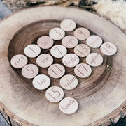 Elle Collective _ NumberDots on Log_ Little Toy Tribe