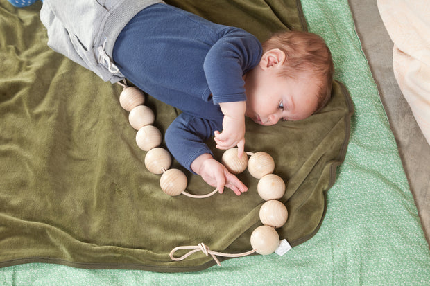 Grapat Natural Garland Balls with Baby Little Toy Tribe