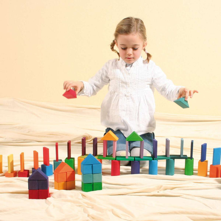 Grimm's Forms and Colours at Play Little Toy Tribe