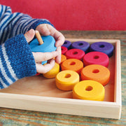 Grimm's Threading Game with Wooden Tray at Play Little Toy Tribe