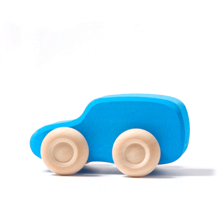 Grimm's Single Coloured Car Little Toy Tribe