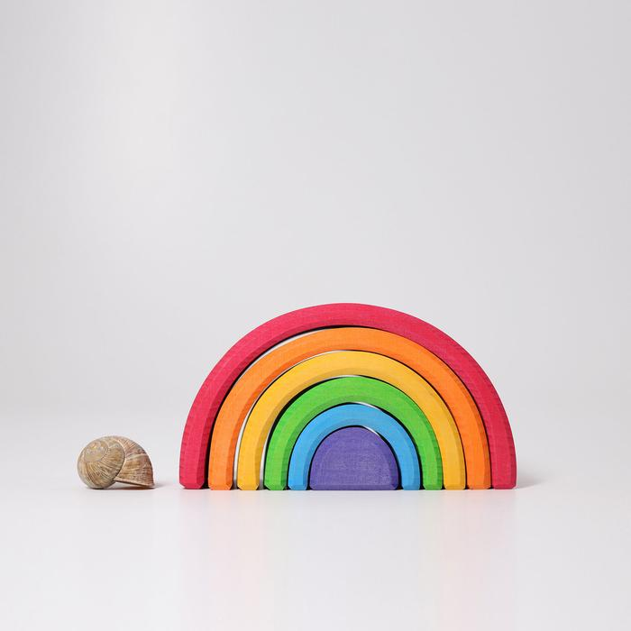 Grimm's Medium Rainbow 6 Pieces Little Toy Tribe